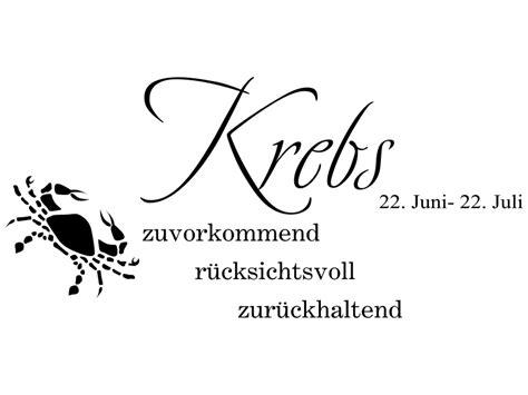 Sternzeichen Krebs Stier by Krebs Wandtattoo Sternzeichen Als Wandtattoos Horoskop
