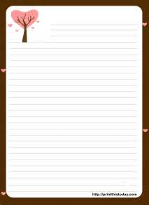 Stationery Template by Letter Pad Stationery