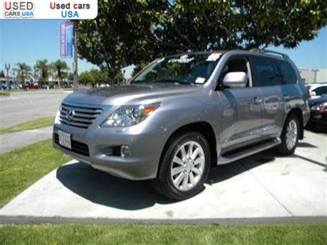 car owners manuals for sale 2009 lexus lx head up display for sale 2009 passenger car lexus lx 570 570 base cerritos insurance rate quote price 78991