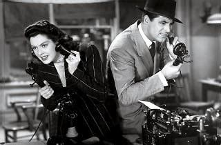 themes in his girl friday his girl friday directed by howard hawks film review
