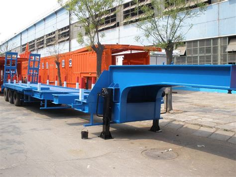 low bed trailer china extendable low bed trailer china extendable low