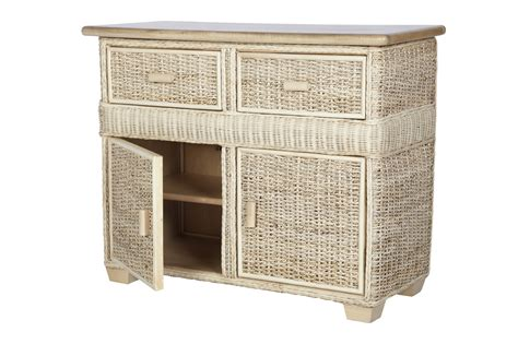 The Shelf Conservatory by Pebble Wicker Rattan Conservatory Cupboard Unit
