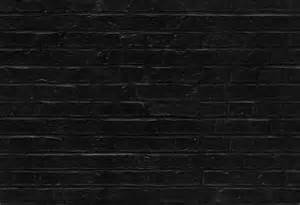 Black Wall Texture Seamless Black Brick Wall Pattern Texture Background