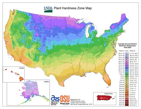 the urbane farmer update to plant hardiness zones map