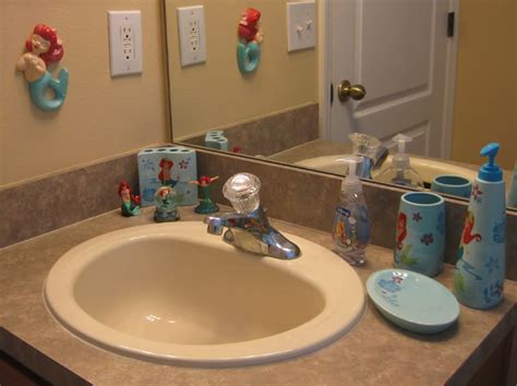 little mermaid bathroom accessories disney little mermaid bathroom accessories image mag