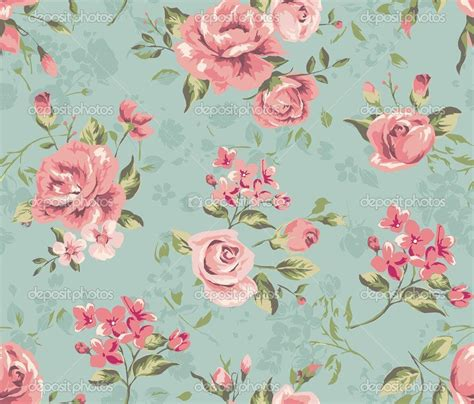 floral wallpaper designs vintage flower backgrounds wallpaper cave
