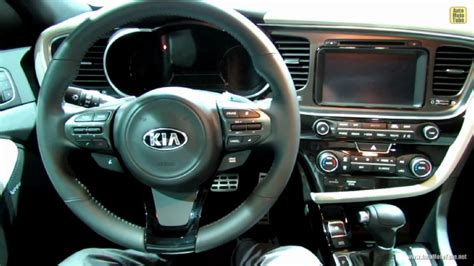 Kia Optima Sxl Interior 2014 Kia Optima Sxl At 2013 Ny Auto Show