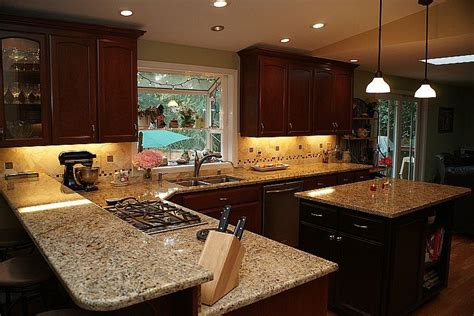Pictures Of New Venetian Gold Granite Countertops by Kitchen And Bath Beyond Our Products