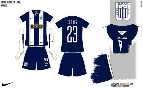 desain jersey league club alianza lima fantasy home away kits nike