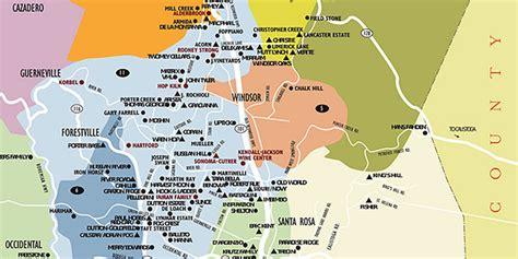 sonoma winery map sonoma wineries map hallsofavalon