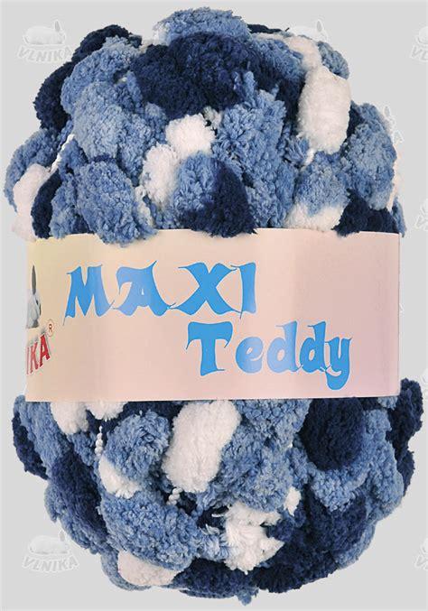 Teddie Maxy vlna priadza podľa zloženia bambulkov 233 maxi teddy