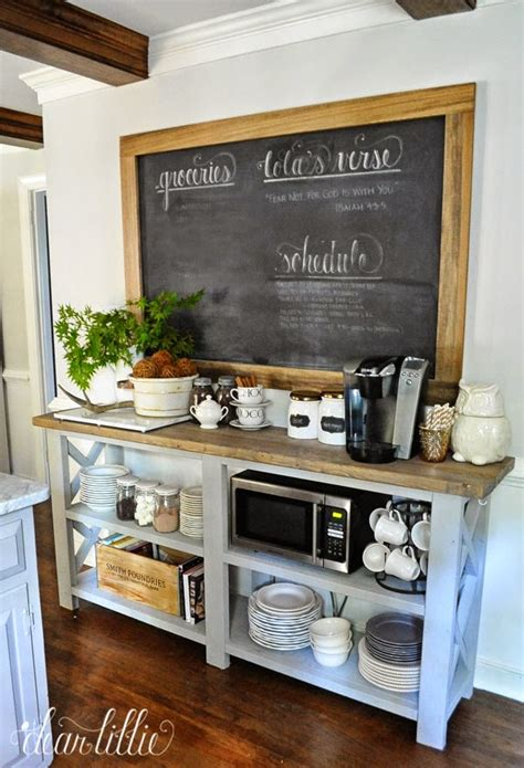 Dining Room Furniture Buffet by 8 Diy Kitchen Coffee Stations Wait Til Your Father Gets Home