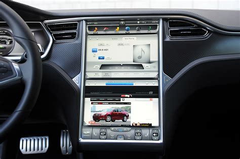 Tesla Touch Screen Tesla Model S Photo Gallery Autoblog