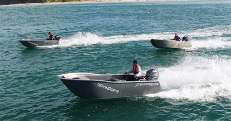 kingfisher boats website kingfisher minicats create high interest at hutchwilco
