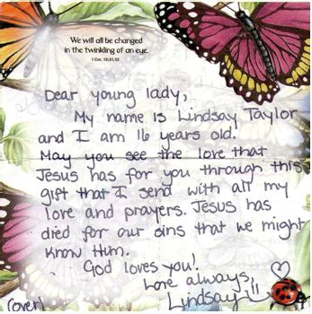 Operation Christmas Child Meryl S Story Passionate Homemaking Operation Child Letter Template