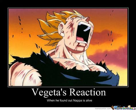 Vegeta Memes - vegeta s reaction by g rex001 meme center