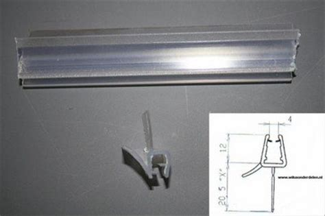 Douchedeur Strips Vervangen by Afwatering 2x95cm T B V Diverse Wilux Wanden Wiluxonderdelen