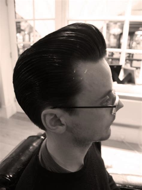 Pomade King Pompadour clean and simple pomp the rebel rouser
