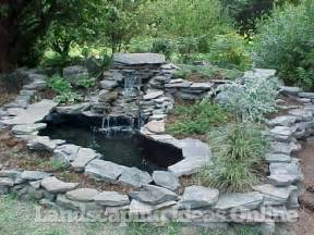 Rock Garden Waterfall Rock Garden With Waterfall Water Feature Gallery