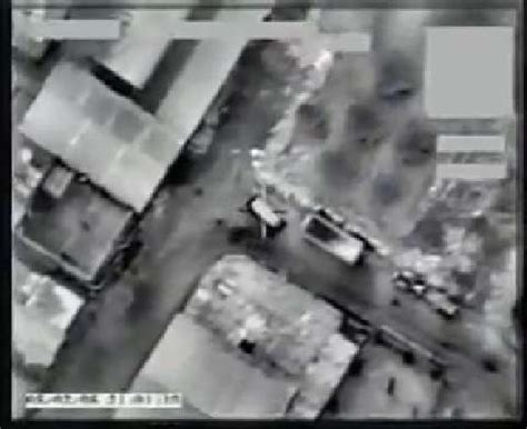 Truck Isi 2 Pcs drone smokes truck with hellfire missile