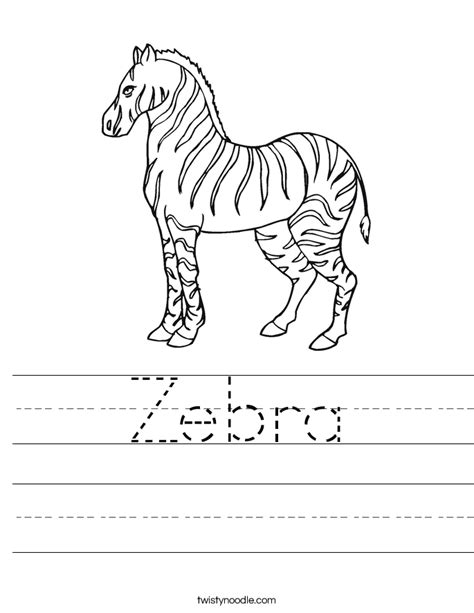 colouring book for adults south africa zebra worksheet twisty noodle