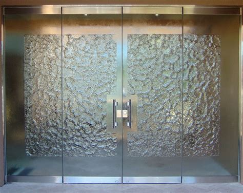 Glass Entrance Doors Frameless Glass Doors L Sans Soucie