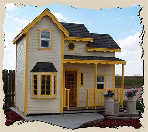 The Cottage Playhouse outdoor manor playhouses studio design gallery