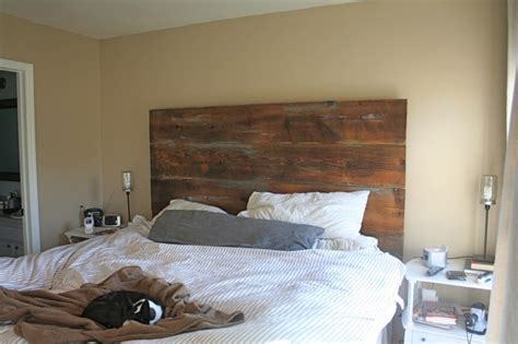 diy barn board headboard headboard from recycled barn boards diy headboard ideas