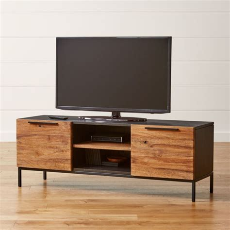 rigby natural  small media console  base reviews