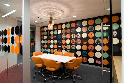 how to start an interior design business office workspace cool office interior designs with orange color themes featuring