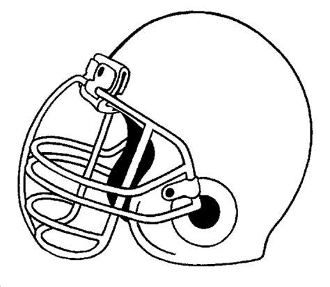 football helmet template football helmet template clipart best
