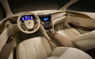 Cadillac Interiors 2010 Cadillac Xts Platinum Concept Interior Wallpaper Hd