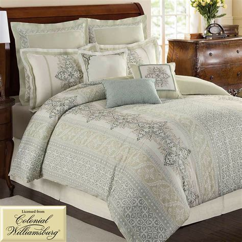 davenport scroll comforter bedding