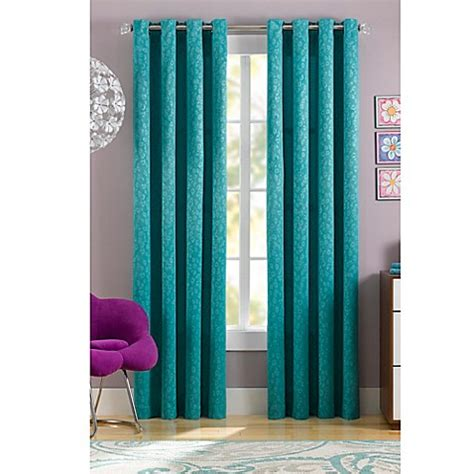 63 inch curtains bed bath beyond buy spotty thermaweave 63 inch window curtain panel in