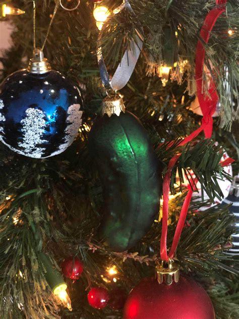 wheinachtsschmuck gurke weihnachtsgurke eine deutsche tradition in den usa