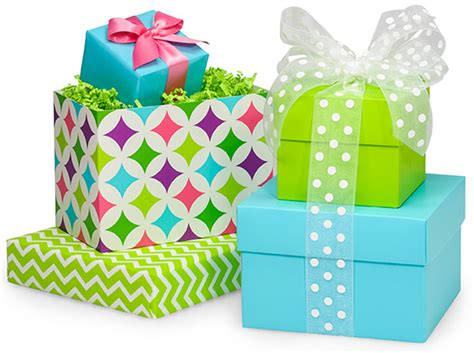 pretty gifts pretty wholesale gift boxes with mix match lids