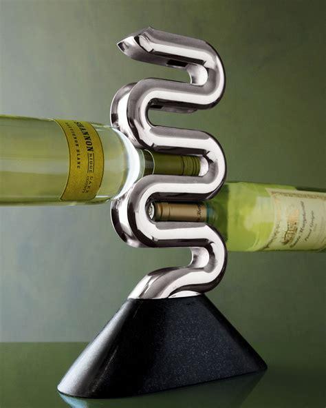 nambe rocks wine rack the green