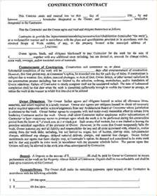 5 contract examplesreport template document report template