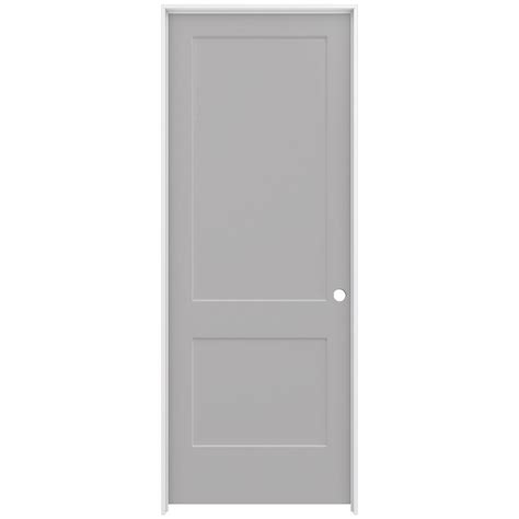 2 panel interior doors home depot jeld wen 36 in x 96 in smooth 2 panel driftwood solid