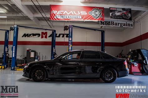 Audi Rs4 Unfall by B8 Audi A4 On Solo Werks Coilovers Gets Rs4 Grille