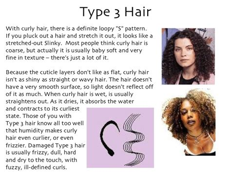 type 3 and gray hair type 3 hair with curly