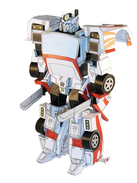 Make A Paper Robot - papercraft changeable robots actually transform