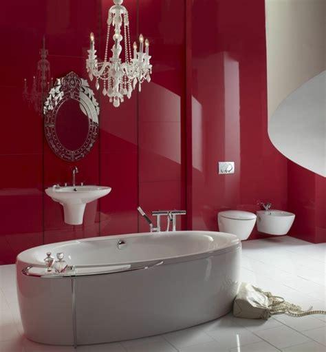 Badezimmer Deko Weinrot by Gestaltung Mit Farbe Wann Sollte Rot Im Badezimmer