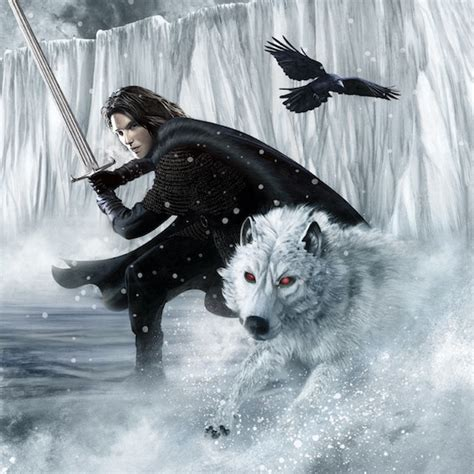 song of ice and fire 2012 calendar andre 2012 game of thrones calendar february john snow ghost