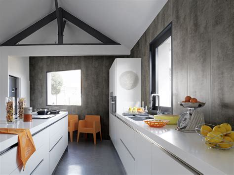 駑ission de cuisine sur 2 lambris pvc pour cuisine maison travaux