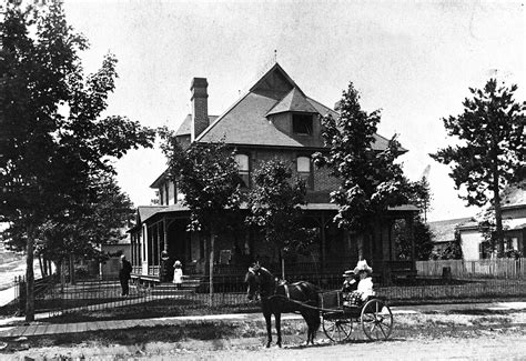 the historic pendill home at 401 n front st in the late
