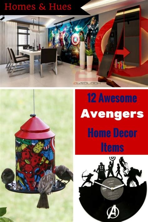 12 great pieces of avengers themed home decor neatorama