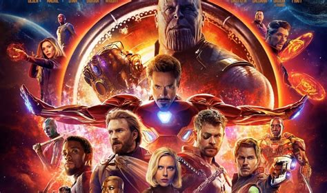 film marvel titoli avengers infinity war avr 224 una sola scena dopo i titoli