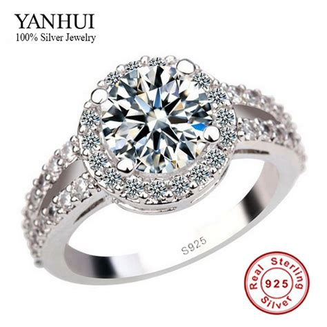 7 Engagement Rings From Since1910 by Yanhui 100 925 Silver Engagement Ring S925 St 3