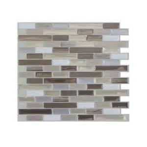 smart tiles 9 125 in x 10 25 in muretto durango mosaic